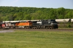 NS 9420, BNSF 7662, & BNSF 727